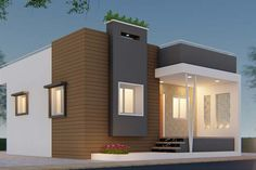 Sanjorjo model is a 3 bedroom one storey house design with roof deck – Amazing Architecture Magazine Single Floor House Design, House Front Design, House Design Photos, Small House Design, Modern House Design, Home Design, Villa Design, Deck Design, Front Elevation Designs