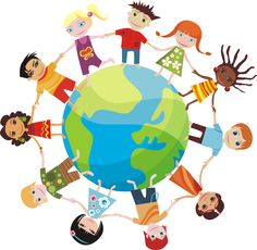 Illustration about Children of many races and cultures of the world, holding hands. Illustration of girl, diversity, hand - 19827227