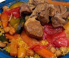 Recette couscous agneau