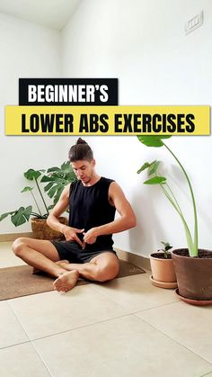 Beginner's Lower Abs Exercises with Wall Support
