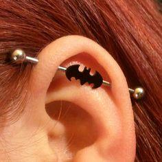 Industrial- left ear