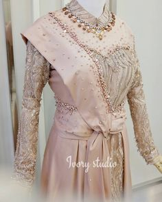 Kebaya Modern Dress, Kebaya Dress, Dress Pesta, Kebaya Hijab, Kebaya Brokat, Muslim Fashion, Hijab Fashion, Fasion, Hijab Dress Party
