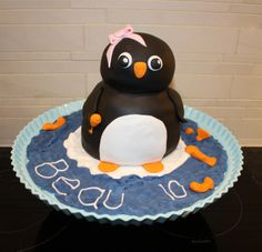 How to make a Penguin cake