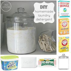 Duo Ventures: DIY: Homemade Laundry Detergent