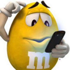 M&M's U. - Everyone's talking about trying to catch all of the colorful characters, but I'm right here… – Yellow Yellow M&m, Yellow Fever, Mellow Yellow, Orange, Favorite Candy, My Favorite Color, My Favorite Things, M&m Characters, Fictional Characters