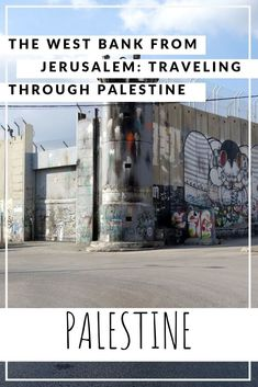 The West Bank from Jerusalem: traveling through Palestine - Travelwriter. Beautiful Places To Visit, Cool Places To Visit, Literary Travel, Family Travel, Group Travel, Israel Palestine, Israel Travel, Military Personnel, Bethlehem
