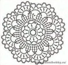 Patrones de Mandalas en Crochet (Free crochet patterns mandalas) | Crochetisimo