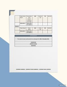 Multiple Project Tracking Template Word Excel Apple Pages Google Docs Google Sheets Apple Numbers Templates Business Icons Design Projects