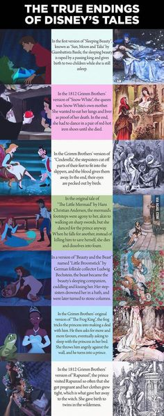 Think they live happily ever after? Think again! The true endings of Disney's Princess stories: