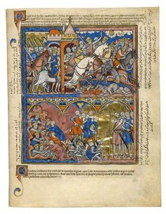 The Longest Day; Israel's Enemies Humiliated | Fol. 11r | The Morgan Library & Museum