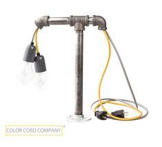DIY Industrial Desk Lamp | Color Cord Company