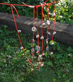Windchimes made from bells and washers-I would love to do something with sound with the 4s and 5s.