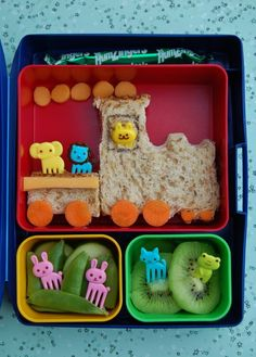 Or 'trains'. | This Mum Makes The Most Amazing Lunchbox Art For Her Kid Every Day