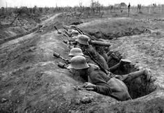 jasta11: Stosstruppe ready for attack, 1918.