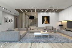 Salon - zdjęcie od BAGUA Pracownia Architektury Wnętrz - Salon - BAGUA Pracownia…