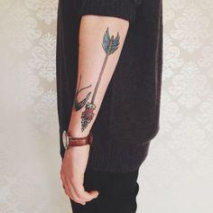 arrow neotraditional tattoo - Buscar con Google