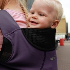 Close Caboo DXgo Carrier - Plum  Carry your little one perfect supported in the right carrier, at the right age and stage without any compromise. A Close carrier that is designed to pack small whilst allowing little ones to ride front and back. Designed to partner with our award winning Caboo range providing the next step in your carrying journey.