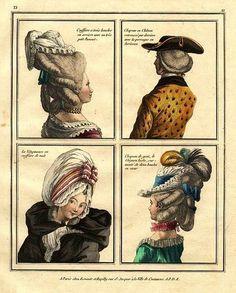 18th-century American Women: More Big Hair -- Higher, Higher, Higher