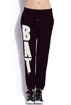 Standout Bat Sweatpants | FOREVER21 - 2000075441