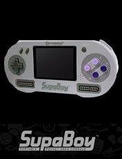 SNES SupaBoy Portable Pocket SNES Console - Hyperkin