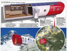 Nieuw onderkomen voor alpinisten bij Courmayeur: Bivacco Gervasutti