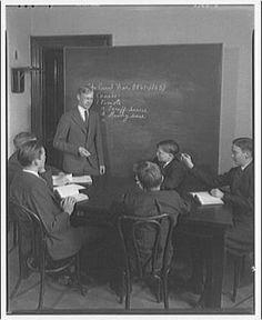 Study Group - Vintage Photo