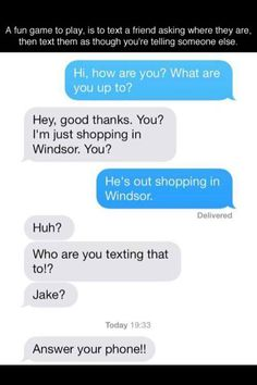haha too funny! So trying tha bucket list text messages ask text where are you bucket list phone murderer Funny Shit, Funny Posts, The Funny, Funny Stuff, Funny Things, Random Stuff, That's Hilarious, Random Things, Haters Gonna Hate