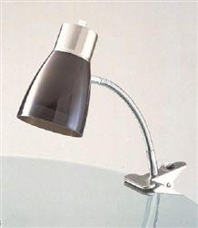 Aglow Dorm Clip Lamp - Black Dorm Essentials College Supply Essentials Dorm Room Lamps