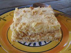 Pineapple fridge tart, dessert recipe | Stuffed Feeling, South Africa