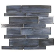 Mosaic Wall Tiles, Mosaic Glass, Mosaics, Backsplash Tile, Backsplash Ideas, Home Design, Tile Covers, Patio Wall, Bathroom Remodeling