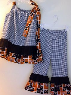 University of Texas Girls Apparel  by Ransom Letter Handmade Boutique on Etsy