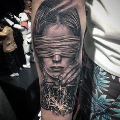 Dad Tattoos, Weird Tattoos, Body Art Tattoos, Sleeve Tattoos, Tattoos For Guys, Black Art Tattoo, Black Ink Tattoos, Black And Grey Tattoos, Sick Tattoo