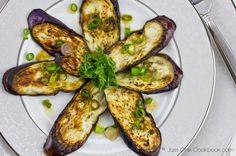Eggplant with Sesame Ponzu Sauce II