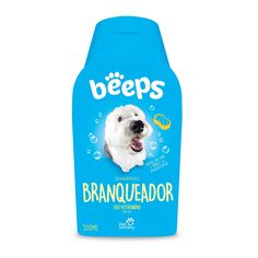 Shampoo Pet Society Beeps Branqueador Cães e Gatos - 500ml. #petsociety #shampoopetsociety #shampooparacachorro #petmeupet #cachorro #petshop #petshoponline #filhode4patas #shampooparagatos #beeps #shampoobeeps