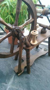 ,,Spinnrad,, Es hat überlebt !!! in Nordrhein-Westfalen - Remscheid   Kunst und Antiquitäten gebraucht kaufen   eBay Kleinanzeigen