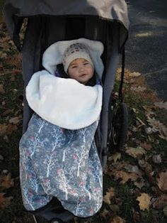 DIY Bundle Me stroller blanket