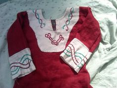 From Thrift Store to Garb Post 1: A Child's Viking Tunic really clever!