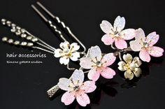 Japanese hair accessories Kanzashi
