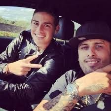 Nicky Jam y James Rodriguez #Colombia