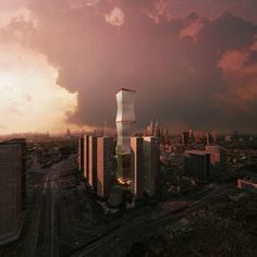 "REX Proposes Retractable Facade for ""Equator Tower"" in Malaysia"