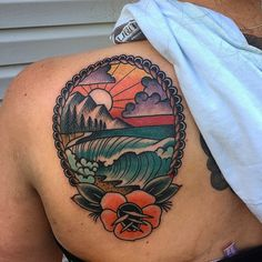Great traditional piece by Shawn Dougherty.