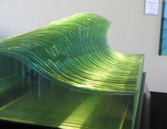 Cut Glass Wave