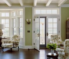 french doors and transoms  Austin Patterson Disston Architects | Portfolio | Waterfront | Sea Grass on the Bay