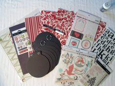 Winter Holidays Scrapbooking Kit 61 by ScrapChicKits on Etsy, $15.99  (omg <3 pls vin)
