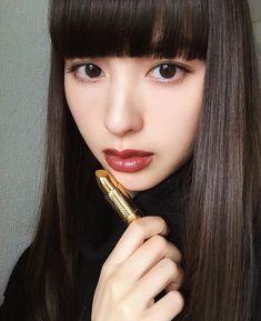 Pin by utabeey on ☆えみちぃ☆ in 2020 Beautiful Person, Beautiful Eyes, Japanese Beauty, Asian Beauty, Korean Eye Makeup, Sexy Teens, Bob Styles, How To Make Hair, Hair Pins