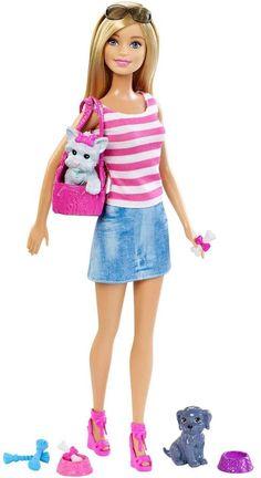 Barbie Doll & Pet Set