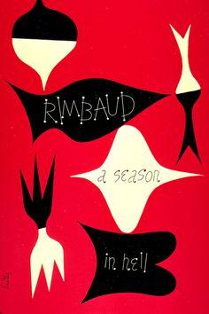 Alvin Lustig book cover via Burning Settlers Cabin