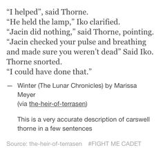 Thorne just Thorne
