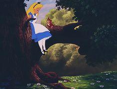 Alice In Wonderland 1951, Adventures In Wonderland, Hippie Love, Disney Cartoons, Asylum, Old Antiques, Graphic Design Illustration, Pixar, Art Ideas