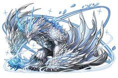 7/31 寵物圖檔更新 (共14隻寵物) - Puzzle & Dragons 戰友系統及資訊網 Fantasy Demon, Fantasy Beasts, Fantasy Monster, Mythical Creatures Art, Magical Creatures, Fantasy Creatures, Creature Concept Art, Creature Design, Dragon Zodiac